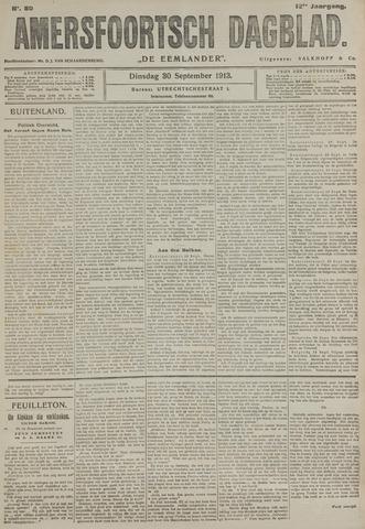 Amersfoortsch Dagblad / De Eemlander 1913-09-30