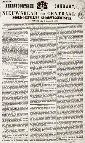 Amersfoortsche Courant 1866