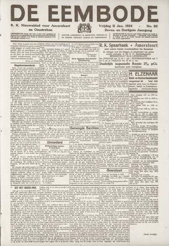 De Eembode 1924-01-11