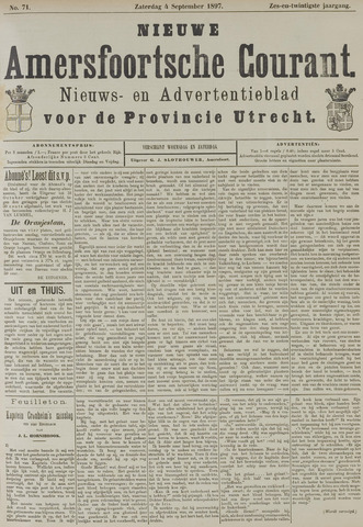 Nieuwe Amersfoortsche Courant 1897-09-04