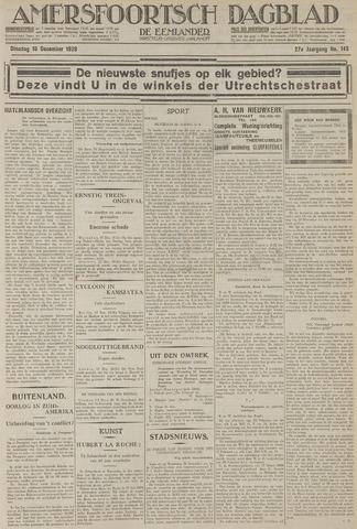 Amersfoortsch Dagblad / De Eemlander 1928-12-18