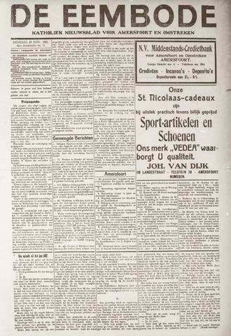 De Eembode 1921-11-29