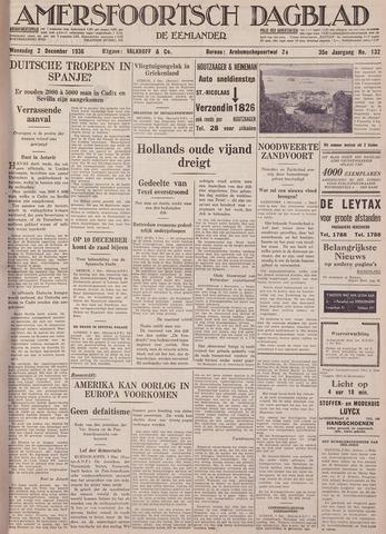 Amersfoortsch Dagblad / De Eemlander 1936-12-02