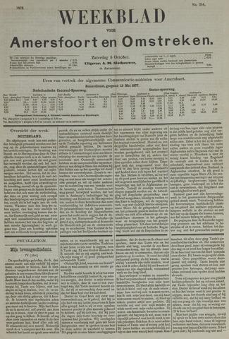 Weekblad voor Amersfoort en Omstreken 1878-10-05