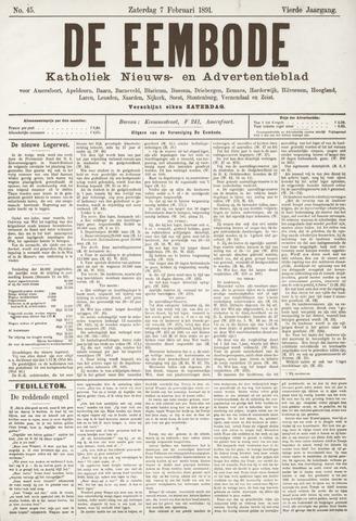 De Eembode 1891-02-07