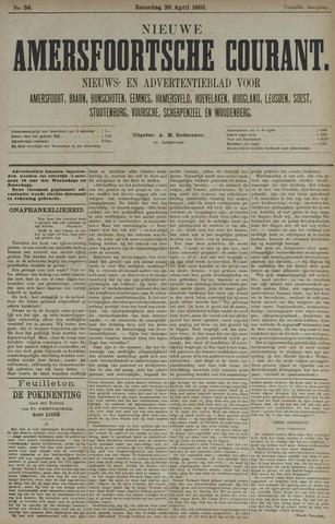 Nieuwe Amersfoortsche Courant 1883-04-28
