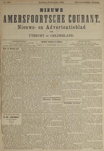 Nieuwe Amersfoortsche Courant 1893-12-30