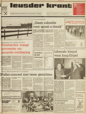 Leusder Krant 1986-01-14