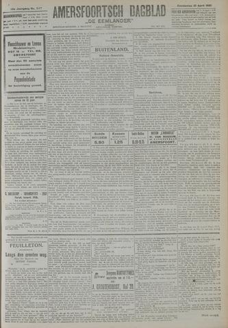 Amersfoortsch Dagblad / De Eemlander 1921-04-21