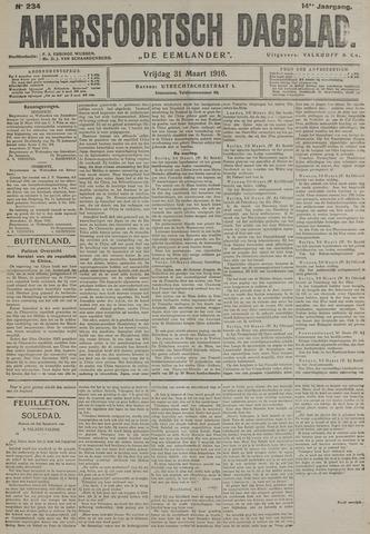 Amersfoortsch Dagblad / De Eemlander 1916-03-31