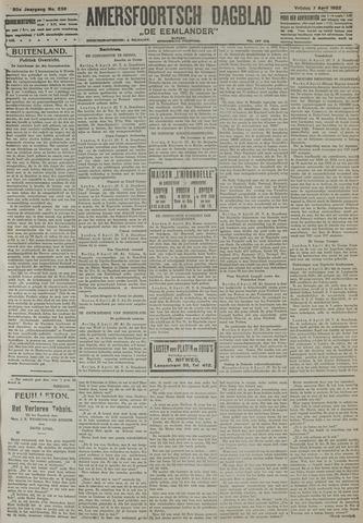 Amersfoortsch Dagblad / De Eemlander 1922-04-07