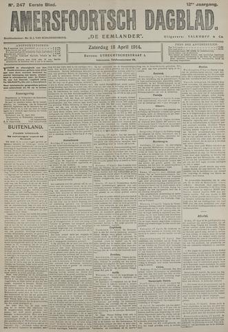 Amersfoortsch Dagblad / De Eemlander 1914-04-18