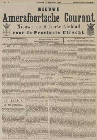 Nieuwe Amersfoortsche Courant 1906-09-22