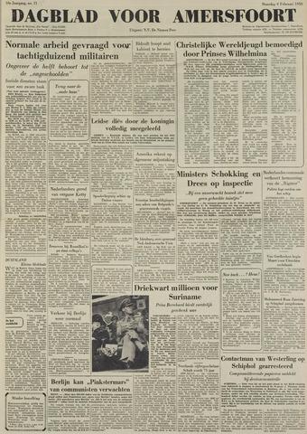 Dagblad voor Amersfoort 1950-02-06