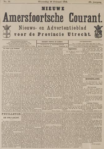 Nieuwe Amersfoortsche Courant 1913-02-19