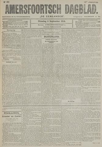 Amersfoortsch Dagblad / De Eemlander 1914-09-08