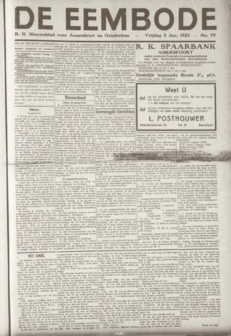 De Eembode 1923-01-05