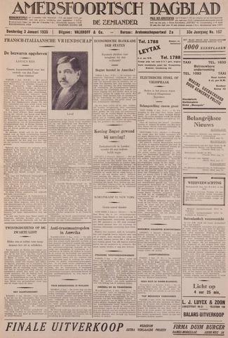 Amersfoortsch Dagblad / De Eemlander 1935-01-03