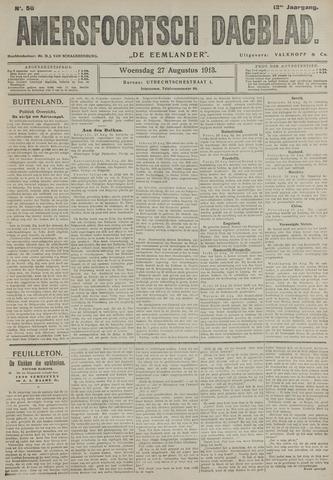 Amersfoortsch Dagblad / De Eemlander 1913-08-27