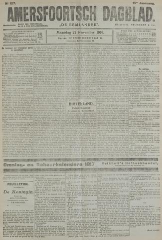 Amersfoortsch Dagblad / De Eemlander 1916-11-27