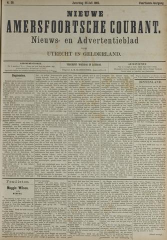 Nieuwe Amersfoortsche Courant 1885-07-25