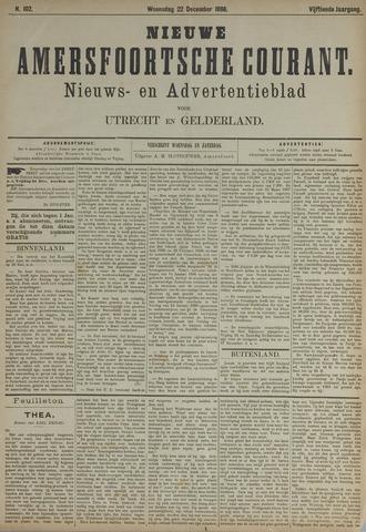 Nieuwe Amersfoortsche Courant 1886-12-22