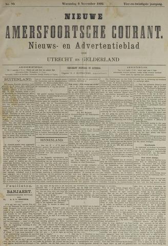Nieuwe Amersfoortsche Courant 1895-11-06