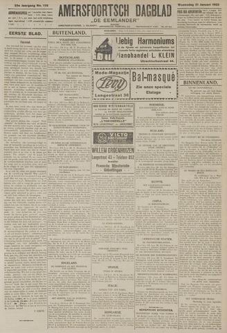 Amersfoortsch Dagblad / De Eemlander 1925-01-21