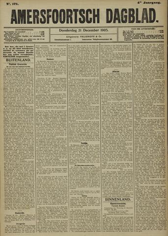 Amersfoortsch Dagblad 1905-12-21