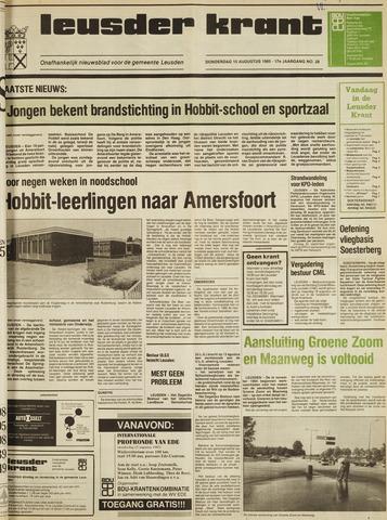 Leusder Krant 1985-08-15