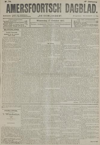 Amersfoortsch Dagblad / De Eemlander 1917-10-17