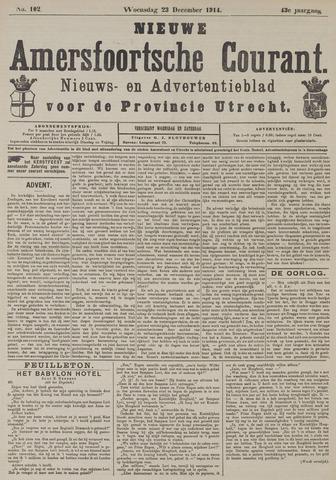 Nieuwe Amersfoortsche Courant 1914-12-23