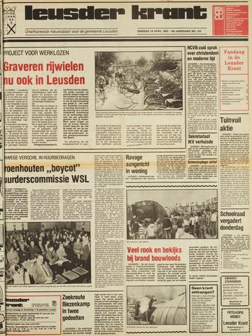Leusder Krant 1983-04-19