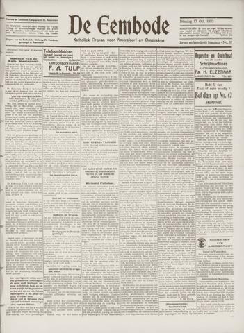 De Eembode 1933-10-17