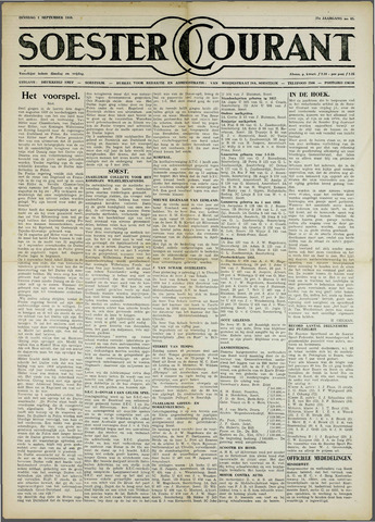 Soester Courant 1959-09-01