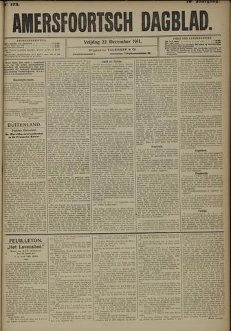 Amersfoortsch Dagblad 1911-12-22