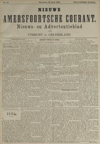 Nieuwe Amersfoortsche Courant 1896-04-29