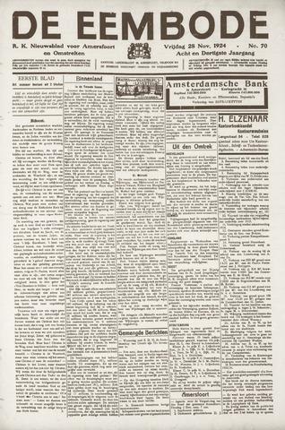 De Eembode 1924-11-28
