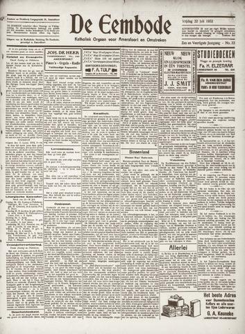 De Eembode 1932-07-22