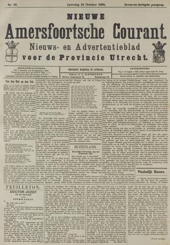 Nieuwe Amersfoortsche Courant 1908-10-24