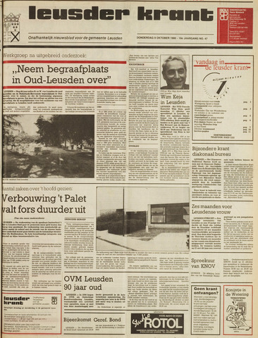 Leusder Krant 1986-10-09