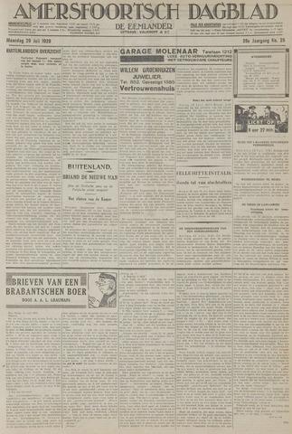 Amersfoortsch Dagblad / De Eemlander 1929-07-29