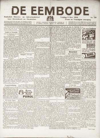 De Eembode 1928-11-09