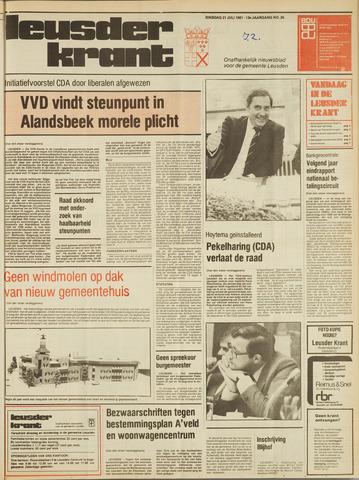 Leusder Krant 1981-07-21