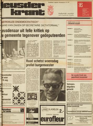 Leusder Krant 1977-08-11