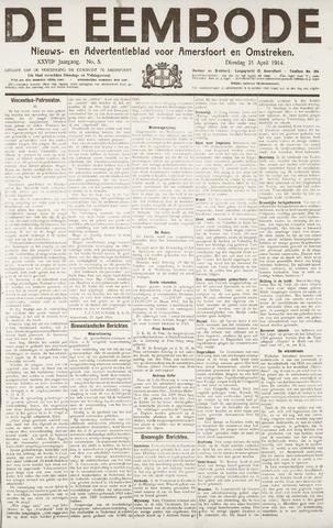 De Eembode 1914-04-21