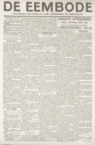 De Eembode 1920-11-09
