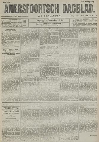 Amersfoortsch Dagblad / De Eemlander 1913-12-12