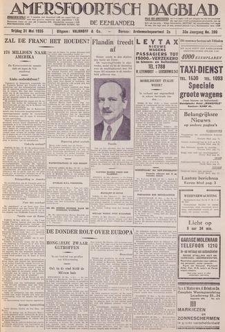 Amersfoortsch Dagblad / De Eemlander 1935-05-31