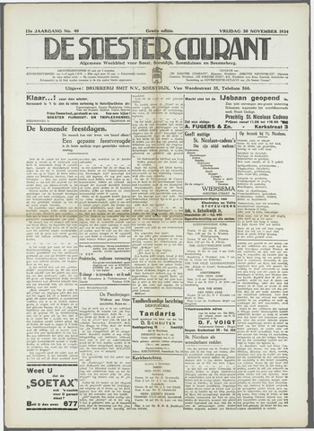 Soester Courant 1934-11-30